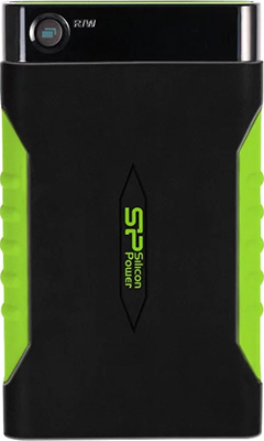 Внешний жесткий диск (HDD) Silicon Power HDD 2.5 1.0Tb Armor A15 (SP010TBPHDA15S3K)