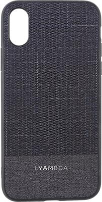 Чехол (клип-кейс) Lyambda EUROPA для iPhone XS (LA05-ER-XS-DB) Dark Blue
