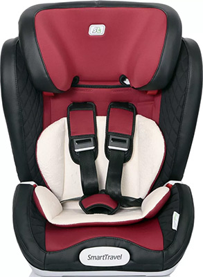 Автокресло Smart Travel ''Magnate ISOFIX'' Marsala 1-12 лет 9-36 кг группа 1/2/3 KRES2069 child car safety seat cybex solution m fix sl 2 3 15 36 kg 3 up to 12 years isofix chair baby car seat kidstravel group 2 3