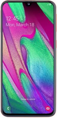 Смартфон Samsung Galaxy A40 64GB SM-A405F (2019) красный