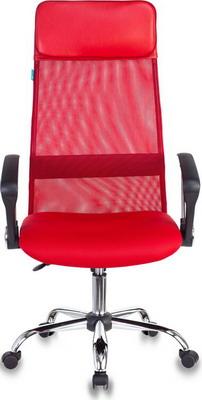 Кресло Бюрократ KB-6N/SL/R/TW-97N красный кресло компьютерное бюрократ kb 9 eco
