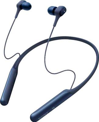 Фото - Беспроводные наушники-вкладыши Sony WI-C600N синие леггинсы domyos легинсы для кросс тренинга женские бесшовные черно синие 500