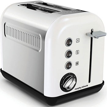 Тостер Morphy Richards Accents White SS 2 Slice 222012EE