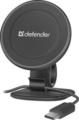Автомобильный держатель Defender CH-115 360° магнит на панель п/кабель (29115) кабель