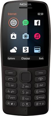 Мобильный телефон Nokia 210 DS (TA-1139) Black/черный стоимость