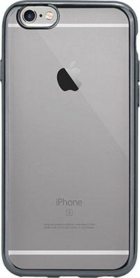 Чехол (клип-кейс) Eva для Apple IPhone 6/6s - Прозрачный/Черный (IP8A010B-6) цена и фото