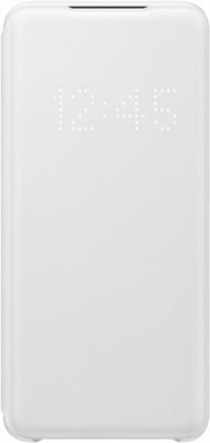Фото - Чехол (клип-кейс) Samsung S20 (G980) LED-View white EF-NG980PWEGRU чехол клип кейс samsung s20 g980 clearview l blue ef zg980clegru