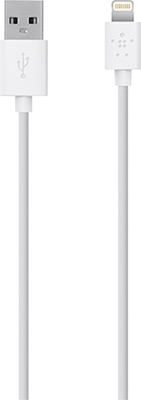 Фото - Кабель Belkin USB папа/8-pin Lightning папа 0 9м белый (F8J023bt03-WHT) fashion quartz watches men luxury waterproof watch man six pin sport military wristwatches clock relogio masculino dropshipping