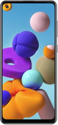Смартфон Samsung Galaxy A21s 3/32GB SM-A217F черный смартфон samsung galaxy j4 2018 sm j415 3 32gb gold