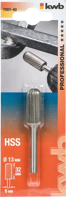 Фреза по металлу Kwb, 13х32мм хв. 6мм 7001-40, Китай  - купить со скидкой