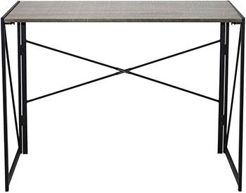 Стол на металлокаркасе Brabix LOFT CD-002 (ш1000*г500*в750мм) складной цвет дуб антик 641213 стеллаж brabix loft sh 003 ш600 г350 в1500мм 5 полок цвет дуб антик 641235