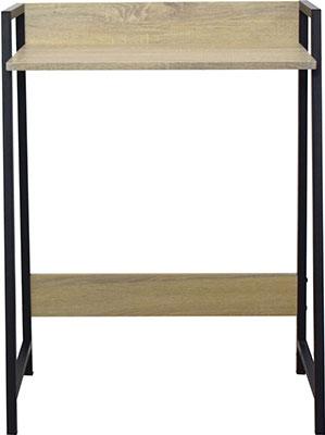 Стол на металлокаркасе Brabix LOFT CD-003 (ш640*г420*в840мм) цвет дуб натуральный 641217 стеллаж brabix loft sh 003 ш600 г350 в1500мм 5 полок цвет дуб антик 641235