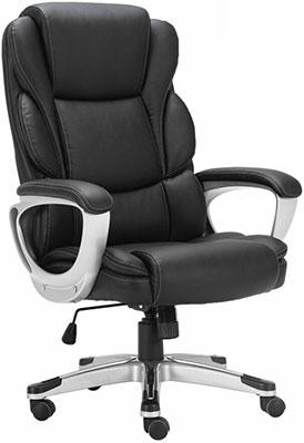 Кресло Brabix PREMIUM ''Rest EX-555'' пружинный блок экокожа черное 531938 кресло офисное brabix rest ex 555 пружинный блок экокожа черное premium 531938