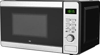 Фото - Микроволновая печь - СВЧ BQ MWO-20000ST/BG Черный-Серый мини печь rommelsbacher bg 950 черный