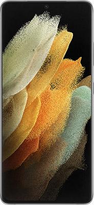 Смартфон Samsung Galaxy S21 Ultra SM-G998 128Gb 12Gb серебристый смартфон samsung galaxy s21 ultra sm g998 256gb 12gb черный фантом