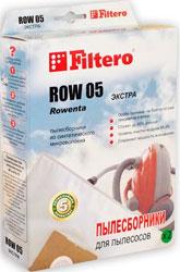 Набор пылесборников Filtero ROW 05 (2) Extra мешок filtero row 05 экстра