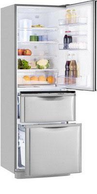 лучшая цена Многокамерный холодильник Mitsubishi Electric MR-CR 46 G-ST-R