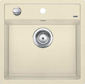 Кухонная мойка BLANCO DALAGO 5 SILGRANIT жасмин с клапаном-автоматом кухонная мойка blanco dalago 45 f silgranit кофе с клапаном автоматом