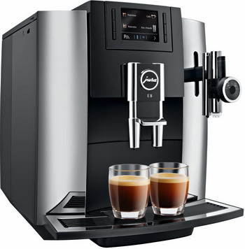 Кофемашина автоматическая Jura E8 Chrome кофемашина jura impressa a9 platin 15018