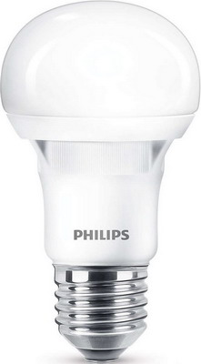 Лампа Philips ESS LEDBulb 5W E 27 3000 K 230 V A 60 светодиодная лампа philips ess ledbulb 5w e27 6500k 230v a60