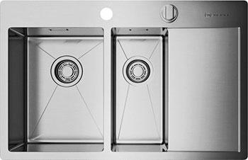 Кухонная мойка OMOIKIRI Akisame 78-2-IN-L (4993062)