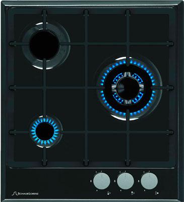 Встраиваемая газовая варочная панель Schaub Lorenz SLK GY 4520 black
