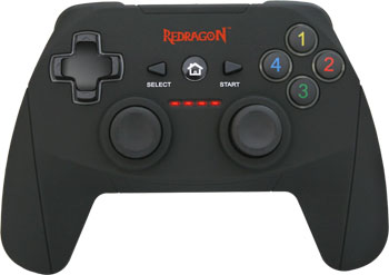 Геймпад Redragon Harrow USB Xinput-PS3 радио Li-Ion (64230) геймпад redragon harrow usb xinput ps3 64230