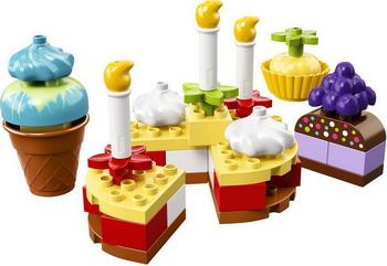 Конструктор Lego DUPLO My First: Мой первый праздник 10862 цена