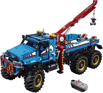 Конструктор Lego Technic: Аварийный внедорожник 6x6 42070