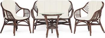 купить Комплект мебели Tetchair Sonoma (dark brown) 11976 по цене 16574 рублей
