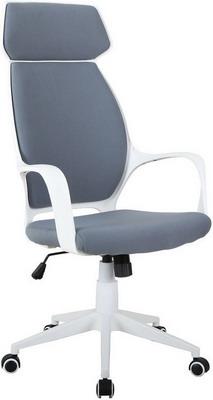 Кресло Tetchair GRACE белый ткань т.-серый 60