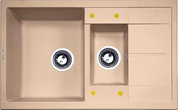 Кухонная мойка Zigmund & Shtain Rechteck 780.2 топленое молоко