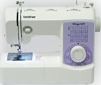 Швейная машина Brother Vitrage M 79 4977766749657 швейная машина brother vitrage m 77 4977766749640
