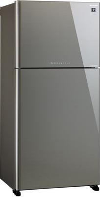 Двухкамерный холодильник Sharp SJ-XG 60 PGSL цена 2017