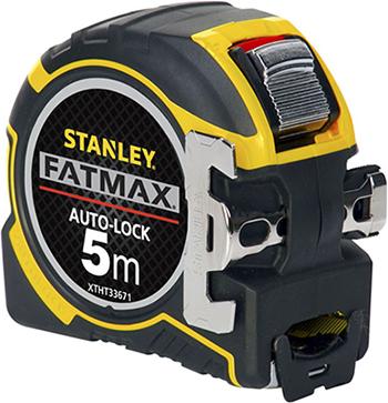 Рулетка Stanley FatMax Autolock 5мх32мм XTHT0-33671 0-33-671 рулетка stanley fatmax 30мx9 5мм 0 34 132