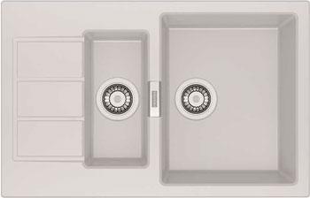 Кухонная мойка FRANKE SID 651-78 белая 114.0489.220