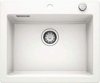 Кухонная мойка BLANCO PALONA 6 керамика глянцевый белый 524731 кухонная мойка pegas 53 0 6 шлифованный глянцевый 530w ст