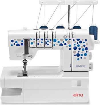 Распошивальная машина ELNA Easycover швейная машина elna excellence 680