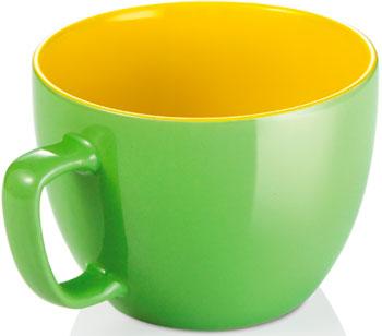 Экстрабольшая кружка Tescoma CREMA SHINE зеленый 387196.25 кружка tescoma crema shine лазурный 387192 28