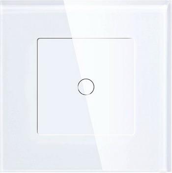 Wi-Fi выключатель одноканальный Hiper IoT Switch T01G белый (HDY-ST01G)