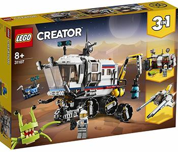 Фото - Конструктор Lego CREATOR ''Исследовательский планетоход'' lego creator городской магазин игрушек 31105