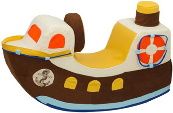 Детская качалка Paremo ''Кораблик''