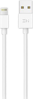 Фото - Кабель Xiaomi USB/Lightning MFi 100 см (AL813C) белый кабель xiaomi zmi al803 usb lightning mfi 100cm black