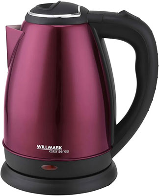 Фото - Чайник электрический WILLMARK WEK-1808SS (вишневый) чайник электрический willmark wek 1808ss белый