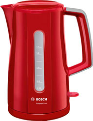 Чайник электрический Bosch TWK 3A 014 чайник bosch twk 7604 3000 вт красный 1 7 л пластик