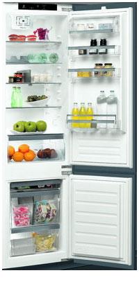 лучшая цена Встраиваемый двухкамерный холодильник Whirlpool ART 9810/A+