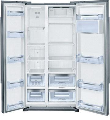 Холодильник Side by Side Bosch KAN 90 VI 20 R цена и фото