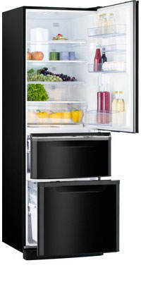 лучшая цена Многокамерный холодильник Mitsubishi Electric MR-CR 46 G-OB-R