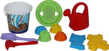 Фото - Набор для песочницы Полесье №135 полесье набор игрушек для песочницы 468 цвет в ассортименте