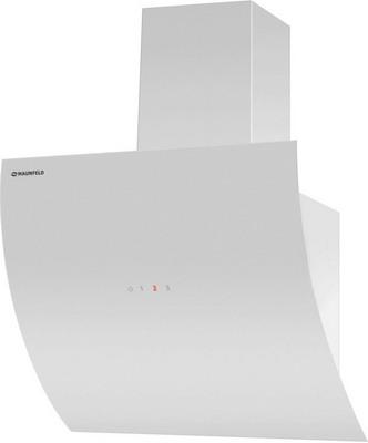 лучшая цена Вытяжка MAUNFELD SKY STAR 90 белое стекло